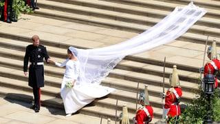 Meghan Markle und Prinz Harry haben sich das Ja-Wort gegeben