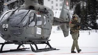 WEF-Sicherheit ist eine nationale Aufgabe (Artikel enthält Video)