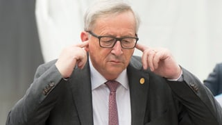 Juncker unter Beschuss