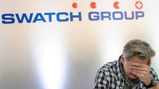 Swatch mit Gewinneinbruch im 1. Halbjahr