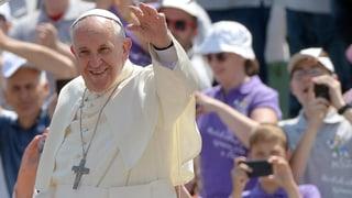 Der Papst als «Pilger des Friedens» in Sarajevo