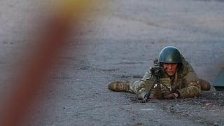 Ukraine startet Militäroperation – Schiessereien in Kramatorsk