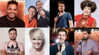 Acht Schweizer Comedians feuern ihre besten Nummern ab (Artikel enthält Video)