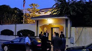 Schweizer Soldaten schützen weiterhin Botschaft in Tripolis