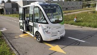 Revolution der selbstfahrenden Busse