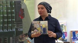 Künstlerin Maria Pomiansky protokolliert ihren Event zeichnerisch (Artikel enthält Video)