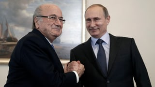 Blatter will trotz Sperre zur WM in Russland