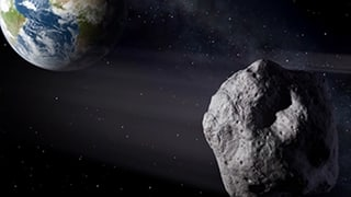 Asteroid auf Tuchfühlung mit der Erde