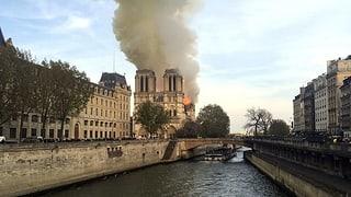 Unglück in Paris: Das Feuer von Notre-Dame