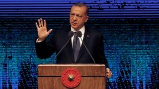 Erdogan ergreift Vergeltungsmassnahmen gegen die USA