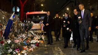 Obama sa regorda da las unfrendas dal terror a Paris