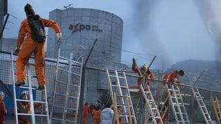 Greenpeace-Aktivisten stürmen AKW Beznau