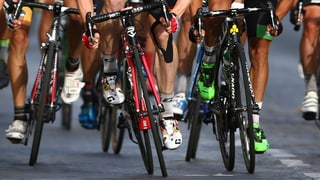 Für die Tour de France füllt Bern Tramschienen auf