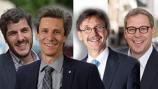 Die vier bisherigen Stadträte dürften wiedergewählt werden