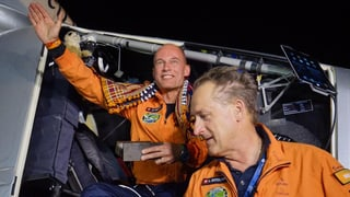 «Solar Impulse 2» landet sicher in Indien