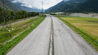 Neues Personal soll den Bau der A9 im Wallis vorantreiben