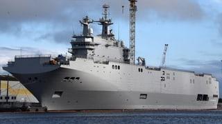 Kriegsschiffe an Russland: Paris klopft Moskau auf die Finger