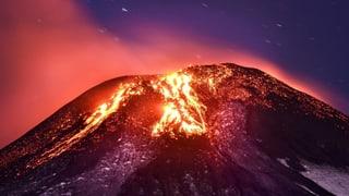 Tausende Bewohner nach Vulkanausbruch evakuiert