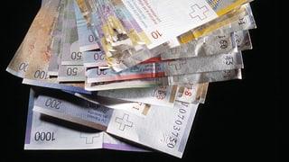 Nationalrat gegen Verbot von hohen Bargeldzahlungen