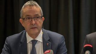 Kein ausserordentlicher Staatsanwalt wegen Regierungsrat Weber