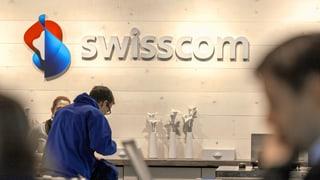 Swisscom schreibt wieder Gewinn