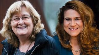 Esther Schönmann und Tanja Reusser und ihr Jahr im Rampenlicht (Artikel enthält Video)