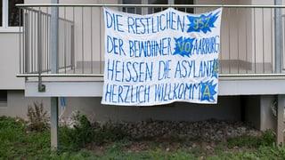Der Streit um Asylunterkünfte geht in eine neue Runde