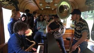 «The Rad Trads» procuran per atmosfera da viadi a Poschiavo