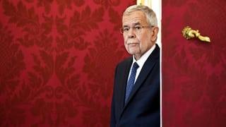 Bundespräsident Van der Bellen entlässt Innenminister Kickl