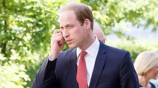 Nach Charlottes Geburt: Prinz William zeigt sich in der Schweiz
