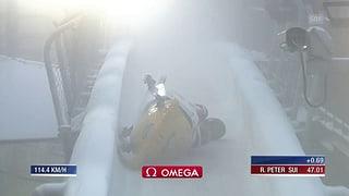 Wintersport: Bob-Team stürzt – Amrhein mit Schlüsselbeinbruch