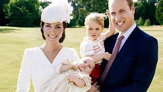 Charlottes Tauf-Fotos: Kate und William öffnen ihr Familienalbum