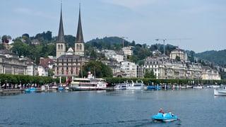 Mehr Touristen in der Region Luzern-Vierwaldstättersee