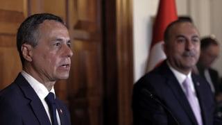 Aussenminister Cassis kommt nicht recht vom Fleck