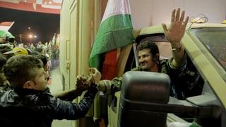 Peschmerga-Kämpfer erreichen Kobane