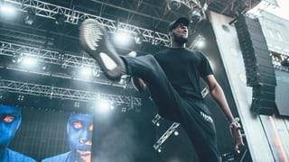 Stormzy: Der ganze Frauenfeld-Gig des britischen Rap-Superstars