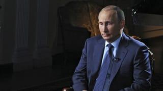 Putin: «Planen keinen Bodentruppen-Einsatz in Syrien»