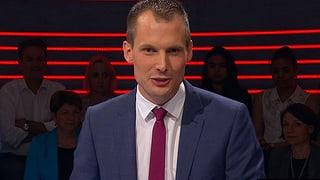 Letzte Frage zur «Arena»: Wie sollen sich Wahlkämpfer entspannen? (Artikel enthält Video)