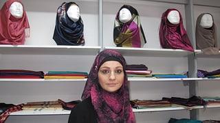 Wo Musliminnen in Bern das passende Kopftuch finden