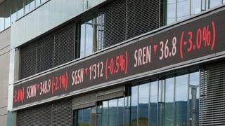 China sorgt an Schweizer Börse für weiteren Taucher
