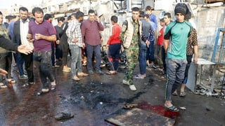Über 70 Tote nach Selbstmordanschlag in Bagdad