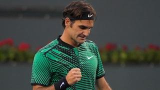 Federer en l'otgavelfinal cunter Nadal