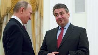 Genosse Gabriel und die Nähe zu Putin