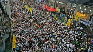 Hongkong: Protestmarsch für echte Demokratie