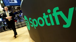 Spotify beim Börsengang ein Tophit