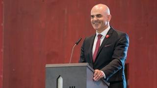 Alain Berset inaugurescha la tur sin il Güglia