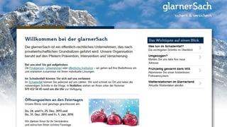 Regierungsrat räumt bei «Glarnersach» auf