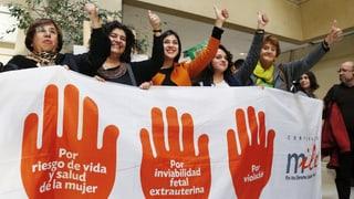 Chile lockert das Abtreibungsverbot
