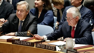«Ich fordere den Rat auf, zu handeln, bevor Nordkorea es tut»
