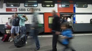 SBB testet Gratis-Internet in den Zügen